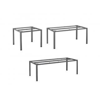 Kettler Cubic Tischgestelle, 95x95, 160x95, 220x95 cm