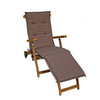 Zebra Deckchair-Auflage
