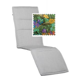 Kettler Lucca Auflage Relaxliege 180x54cm Papageien- Muster
