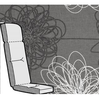 Kettler Anfertigung 519 in KTH3, anthrazit floral
