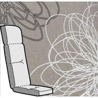 Kettler Anfertigung 773 in KTH3, taupe floral