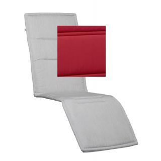 Kettler Lucca Auflage Relaxliege 180x54cm rot