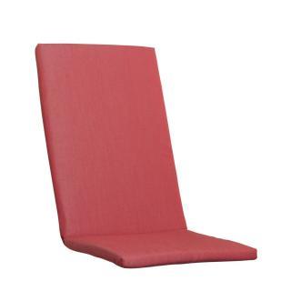 Kettler Auflagen Dessin 916, rot uni, KTH 2