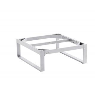Kettler Ego Lounge Tischgestell 95x95x33 cm silber
