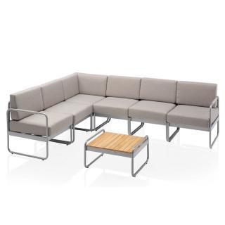 Kettler Endless Summer Lounge modular silber/ hellgrau, Rope