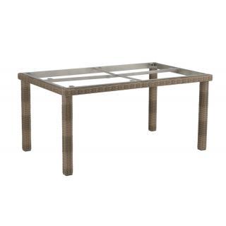 Kettler Cubic-Tischgestell Geflecht 160x95 cm