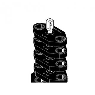 Kettler Gewichtspaket, 20 kg, schwarz, F5/F7