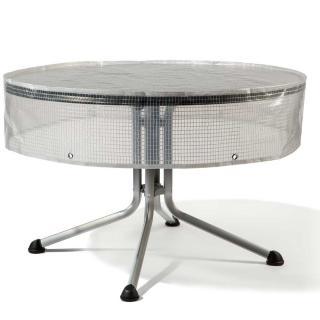 Heinem.Tischhaube transparent rund