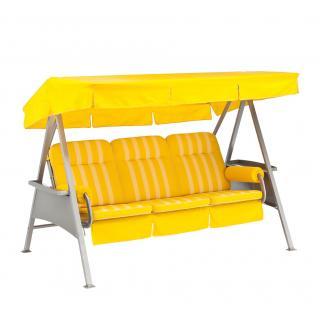 Kettler Schaukelauflagen mit Dach, 3-Sitzer für Montana oder Classic