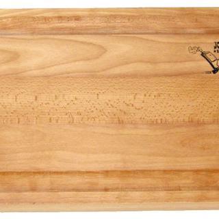 Joe's Seitentisch mit massiver Holzplatte