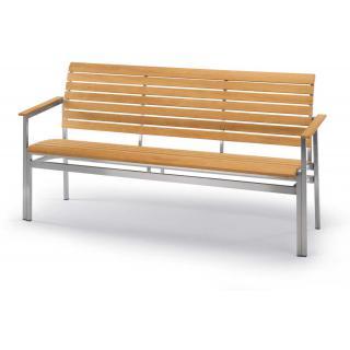 Fischer La Piazza Bank 3-Sitzer 158 cm mit Armlehn