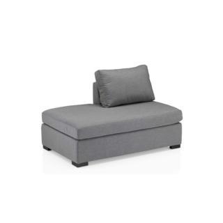 Lavi Lounge Chaise Lounge silber/hellgrau meliert