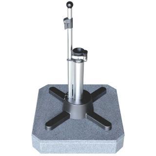 Liro Mini Plus 50 K Granit fahrbar dunkelgrau Schnellspannung 35,38/39,50,55