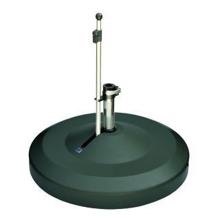 Liro Maxi 120 Schirmständer fahrbar anthrazit Schnellspannung 50,55mm