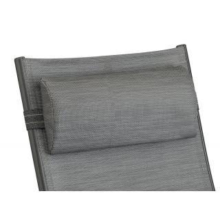 Kettler Lucca II Kopfpolster halbrund graphit