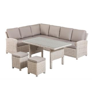 Marbella Lounge Dining Set sand