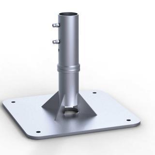 May Schattello Ankerplatte zum Aufdübeln mit Ankerhülsen Oberteil SZ118