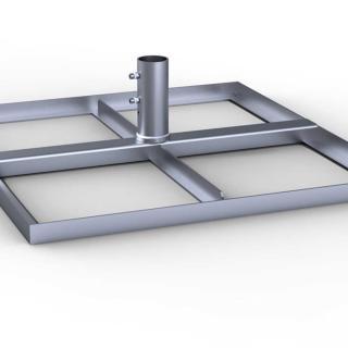 may sonnenschirm schattello rost peter s e. Black Bedroom Furniture Sets. Home Design Ideas