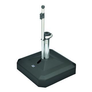 Liro Mini Plus 45 Schirmständer fahrbar anthrazit Schnellspannung (35,38/39,50,5