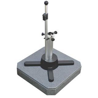 Liro Mini Plus 50 S Granit fahrbar dunkelgrau flexibele Klemmung (25-53mm)