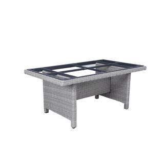 Kettler Palma Modular Tisch-Gestell 160x95cm white- wash