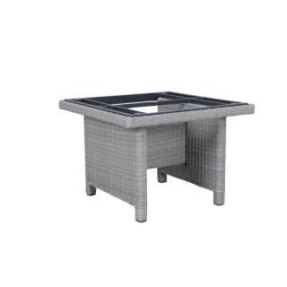 Kettler Palma Modular Tisch-Gestell 95x95cm white- wash