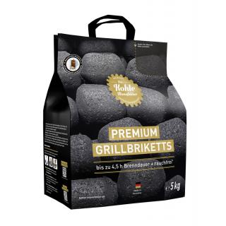 Premium Grillbrikett 5 Kg