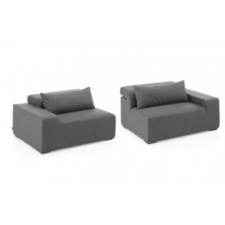 Kettler Royal Sofa modular 2-teilig Sunbrella®