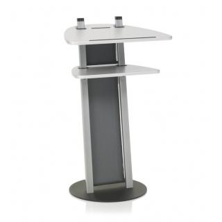 Kettler Stehpult Design-Stehpult - silber / silber