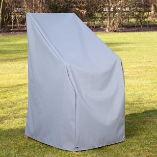 Heinem.Sesselhaube 66x65x65/105 cm grau,Teak Safe