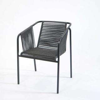 Fischer Suite Sessel Edelstahl matt lackiert