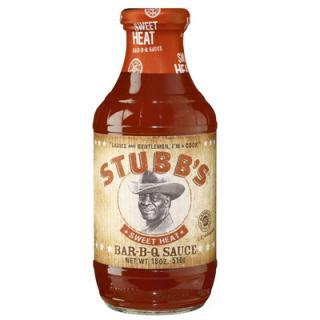 Stubbs BBQ Sauce Sweet Heat 510ml