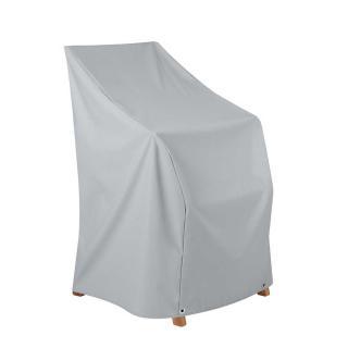 Heinem.Sesselhaube 63x68x63/86 cm grau,Teak Safe