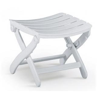 Füßchen Tiffany Hocker u.Sessel alt 4 Stk. weiß 4,5 cm
