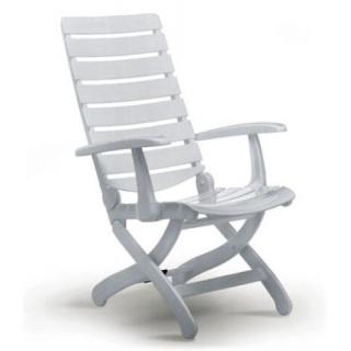 Kettler Tiffany Multipositions-Sessel weiß