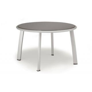 Avance Tisch mit Glasplatte 120cm rund