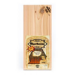Axtschlag Räucherbretter groß - Zedernholz (2 Stück)