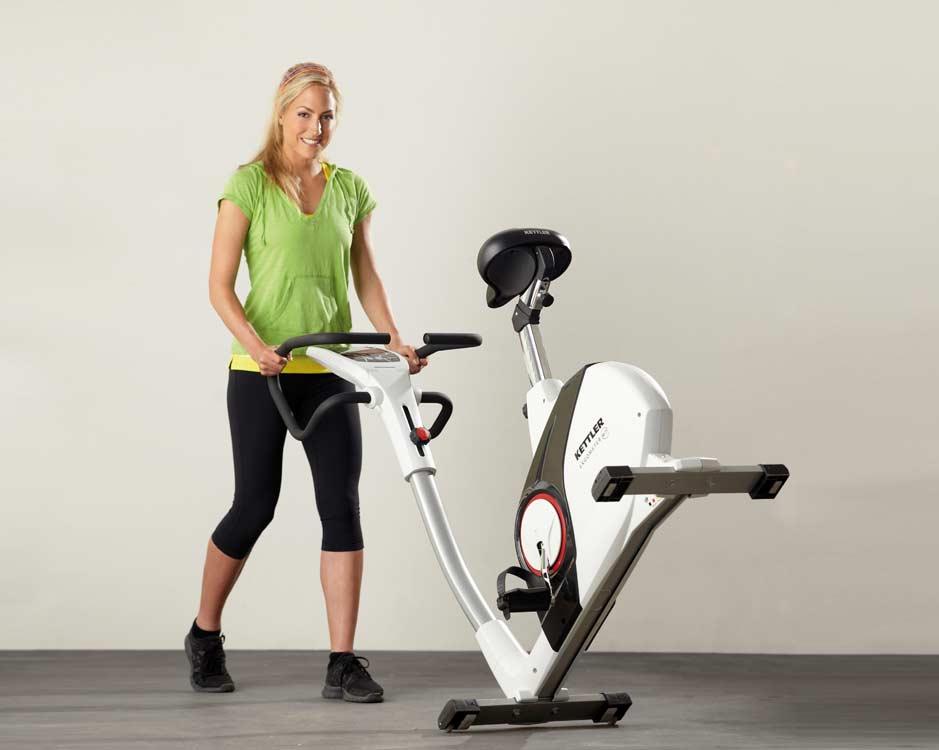 Чем велотренажер похудей