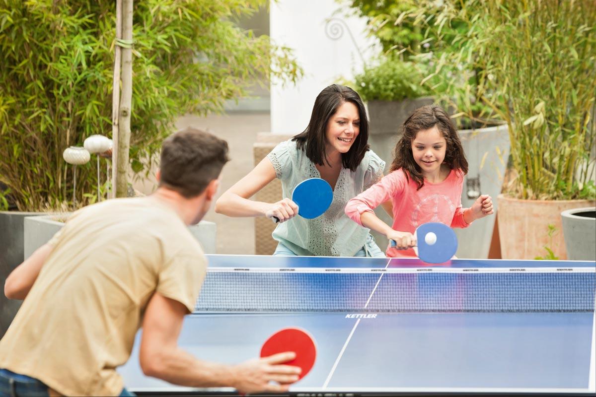 Indoor Tischtennisplatten Kettler Junior